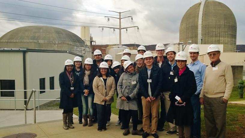 Students Visit Indian Point