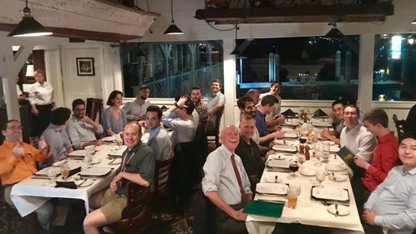 Plasma Physics Reunion Dinner