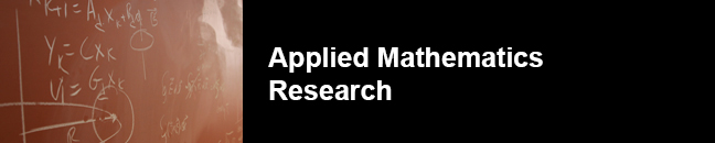 Applied Mathematics Research | Applied Physics and Applied Math
